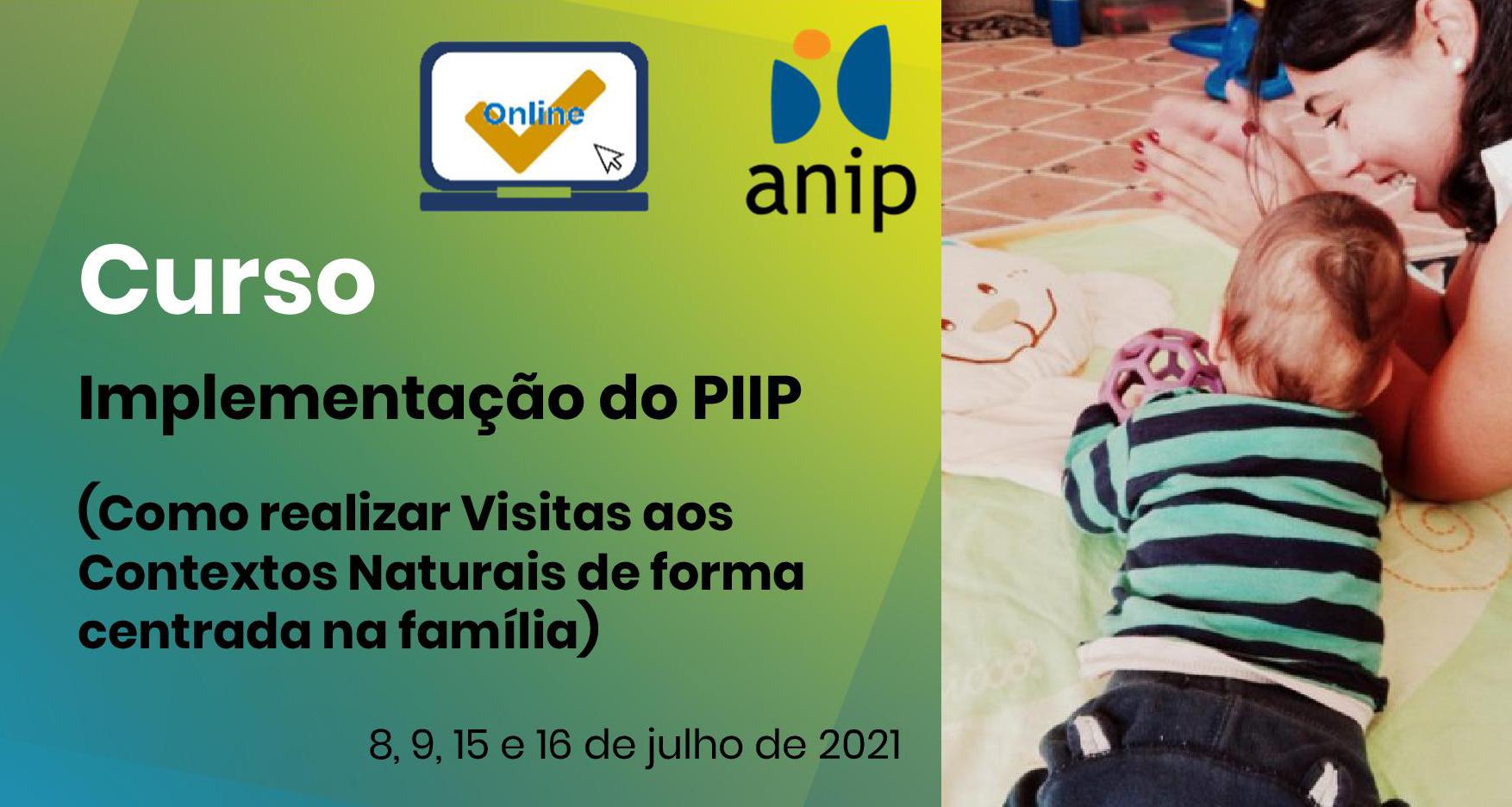 Implementação do PIIP – Visitas C. Naturais (online)